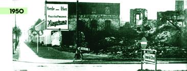 Bild: Hungerkamp Bocholt 1950