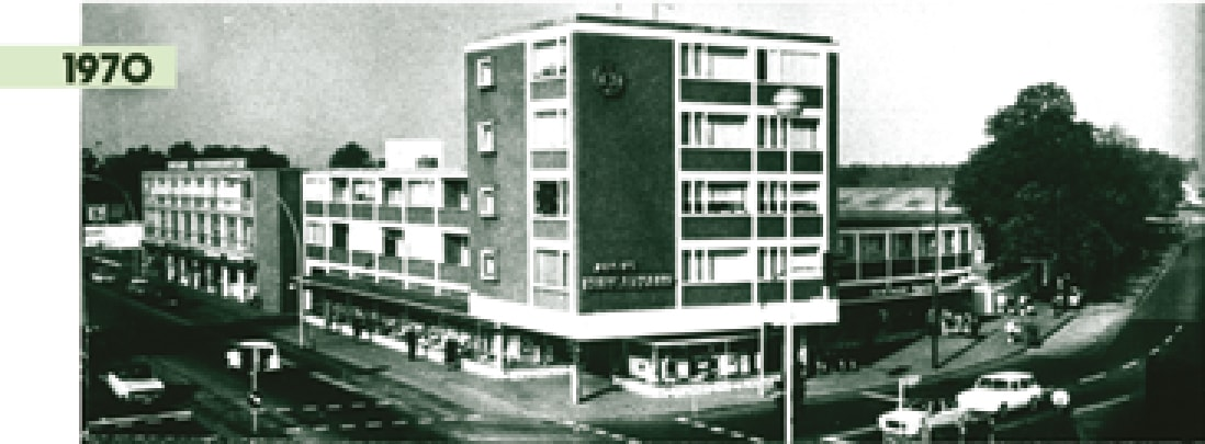 Foto: Hungerkamp Bocholt 1970
