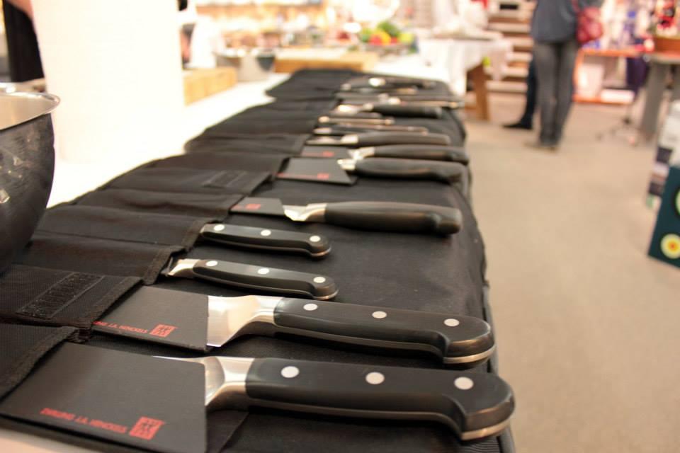 Scharfe Messer sind wichtig
